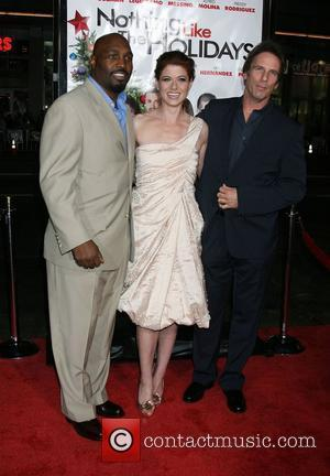 James Black and Debra Messing