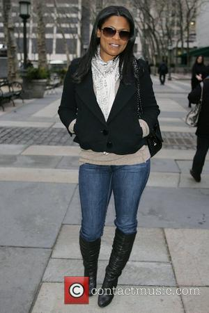 Nia Long Mercedes-Benz IMG New York Fashion Week Fall 2009 - Celebrities at Bryant Park New York City, USA -...