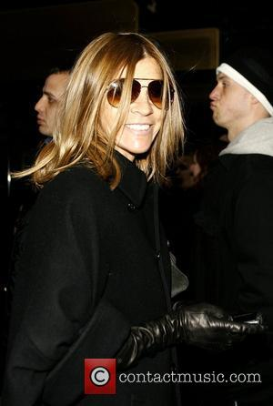 Carine Roitfeld Mercedes-Benz IMG New York Fashion Week Fall 2009 - Calvin Klein - Outside Arrivals New York City, USA...