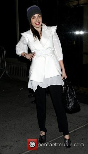 Fabiola Beracasa Mercedes-Benz IMG New York Fashion Week Fall 2009 - Calvin Klein - Outside Arrivals New York City, USA...
