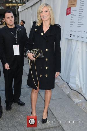 Heidi Klum and Diane Von Furstenberg