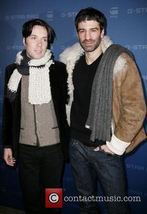 Rufus Wainwright and boyfriend Jorn Mercedes-Benz IMG New York Fashion Week Fall 2009 - G-Star - Inside Arrivals New York...