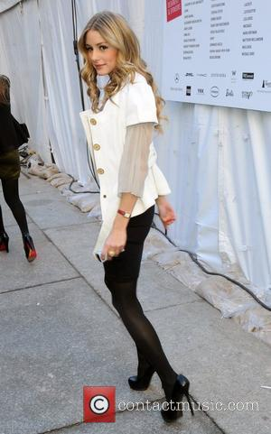 Olivia Palermo Mercedes-Benz IMG New York Fashion Week Fall 2009 - Herve Leger - Outside Arrivals New York City, USA...