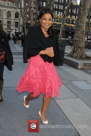 Nia Long Mercedes-Benz IMG New York Fashion Week Fall 2009 - The Heart Truth's Red Dress Collection 2009 Fashion Show...