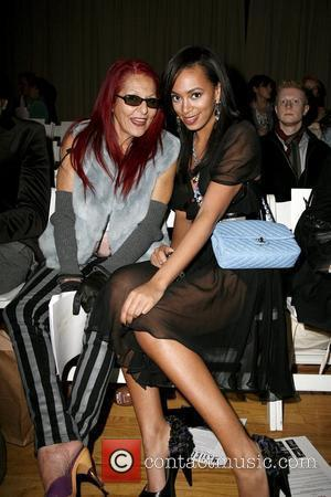 Patricia Field and Solange Knowles Mercedes-Benz IMG New York Fashion Week Fall 2009 - Toni Maticevski - Front Row New...