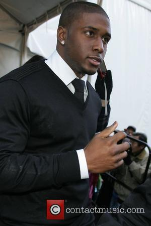 Reggie Bush Mercedes-Benz IMG New York Fashion Week Fall 2009 - Tracy Reese - Outside Arrivals New York City, USA...