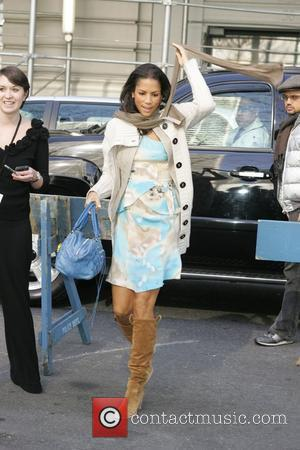 Veronica Webb Mercedes-Benz IMG New York Fashion Week Fall 2009 - Tracy Reese - Outside Arrivals New York City, USA...
