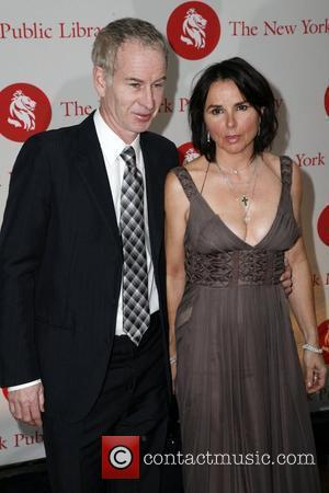 John McEnroe and Patty Smyth New York Public Library Library Lions and Young Lions Gala 2008 New York City, USA...