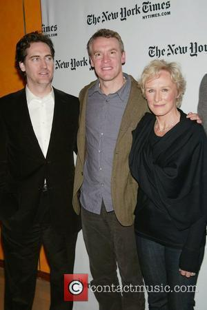Daniel Zelman, Tate Donovan and Glenn Close