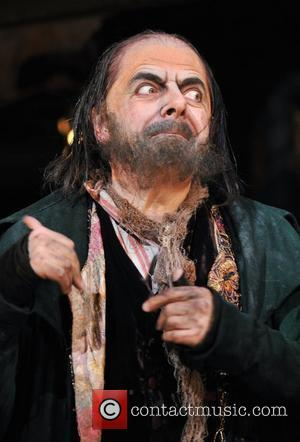 Rowan Atkinson as Fagin Oliver! - Photocall held at the Theatre Royal London, England - 12.01.09