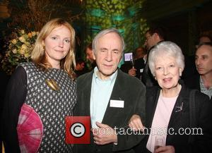 Miranda Richardson, Andrew Sachs and June Whitfield The Orion Author part held at the Victoria & Albert Museum London, England...