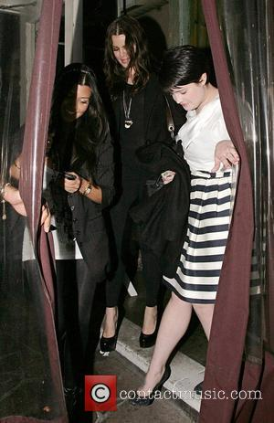 Khloe Kardashian and Kelly Osbourne