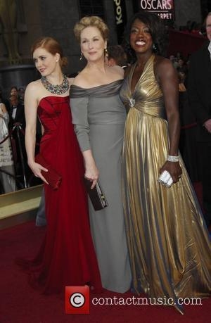 Amy Adams, Meryl Streep and Academy Of Motion Pictures And Sciences