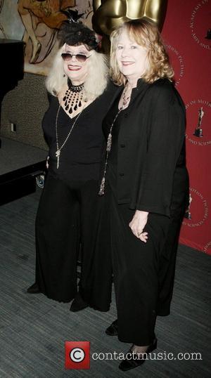 Sylvia Miles and Shirley Knight