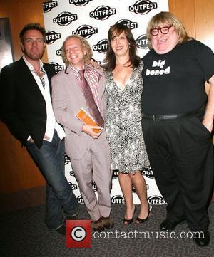 Ewan McGregor, Bruce Cohen, Kristen Schaffer and Bruce Villanche The Outfest 2008 Legacy Awards held at The Directors Guild of...
