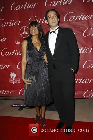 Taraji P Henson and Alexandre Desplat