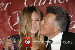 Dustin Hoffman and His Daughter