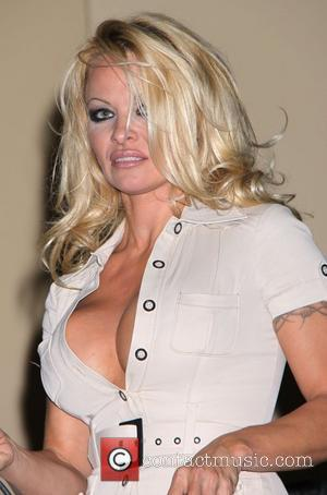 Pamela Anderson attends a classic car auction held at the South Point hotel and casino Las Vegas, Nevada - 20.12.08