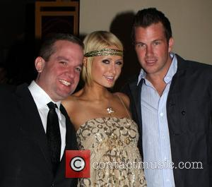 Paris Hilton, Boyfriend Doug Reinhardt With Guest and Hard Rock Hotel And Casino