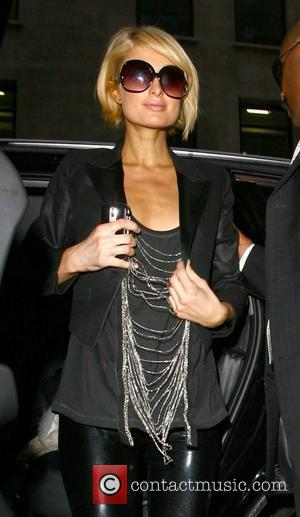 Paris Hilton returns to her hotel after a day of TV studio interviews London, England - 28.01.09