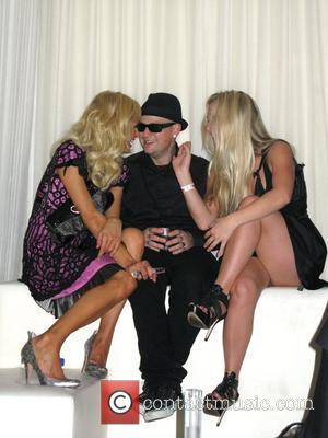Paris Hilton, Benji Madden and Nicky Hilton