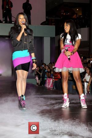 Vanessa Simmons and Angela Simmons Seventeen Magazine presents a concert and fashion show for Simmons' Pastry handbag and apparel line...