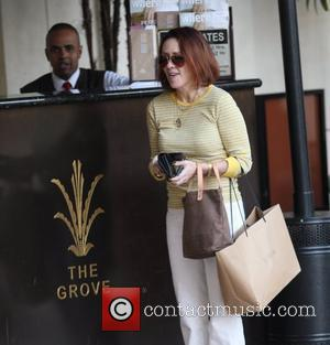 Patricia Heaton out shopping in Hollywood Los Angeles, California - 20.03.09