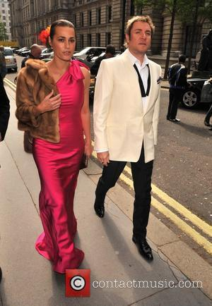 Yasmin and Simon Le Bon arrive for the wedding of Patsy Kensit and Jeremy Healy London, England - 18.04.09
