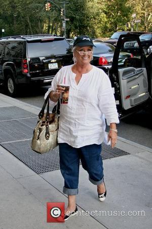 Chef Paula Deen arrives at her Manhattan hotel New York City, USA - 09.10.08