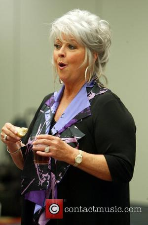 Paula Deen  addresses her fans at a VIP lunch and book signing as part of The 3rd Annual Metropolitan...