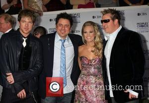 Rascal Flatts and Carrie Underwood 35th Annual People's Choice Awards at the Shrine Auditorium - Arrivals Los Angeles, California -...