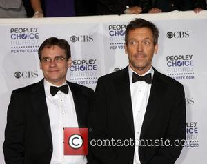 Robert Sean Leonard and Hugh Laurie 35th Annual People's Choice Awards at the Shrine Auditorium - Arrivals Los Angeles, California...