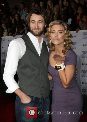 Ryan Eggold and AnnaLynne McCord 35th Annual People's Choice Awards at the Shrine Auditorium - Arrivals Los Angeles, California -...
