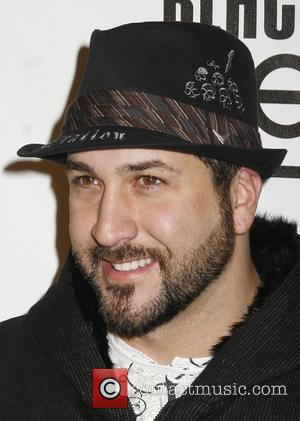 Joey Fatone and Black Eyed Peas