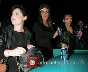 Kelly Osbourne, Khloe Kardasian and Kim Kardashian