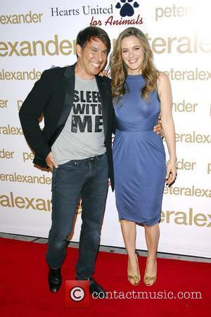 Peter Alexander and Alicia Silverstone