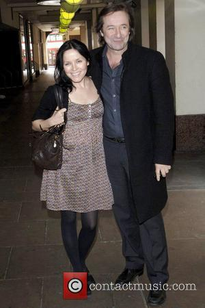 Andrea Corr and Neil Pearson  Premiere of the short film 'Pictures' at Cineworld Shaftesbury Avenue at The Trocadero -...