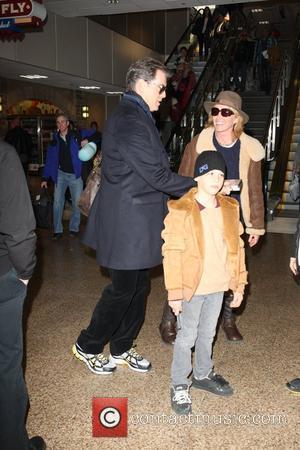 Pierce Brosnan and Paris Beckett Brosnan