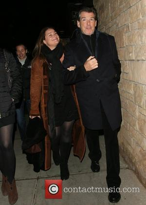 Pierce Brosnan and his wife Shaye Keely Bronson