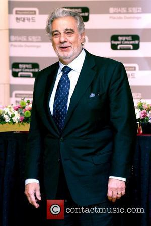 Placido Domingo attends the press conference prior to their concert at the Grand Intercontinental Hotel  Seoul, South Korea -...