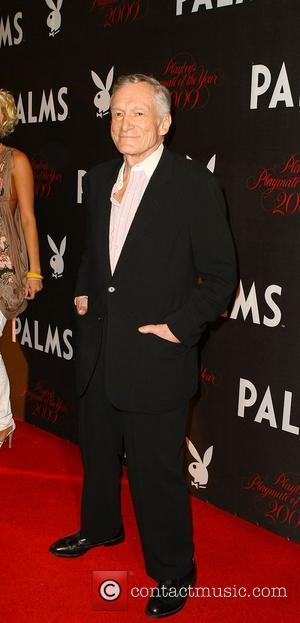 Hefner Gives Downey, Jr. Thumbs Up For Biopic