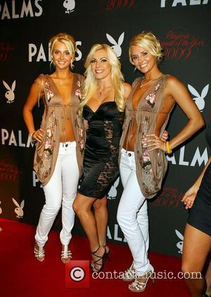 Karissa Shannon, Crystal Harris, Kristina Shannon Playboy Playmate of The Year 2009 held at The Palms Hotel Casino Las Vegas,...