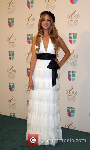 Eiza Gonzalez  Univision's 'Premio Lo Nuestro A La Musica Latina' awards - Press Room Miami, Florida - 26.03.09