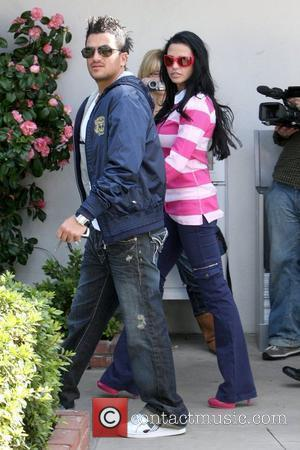 Peter Andre and Katie Price leaving Bernie and Hillary Safire Salon and heading to lunch at Tra di Noi Malibu,...