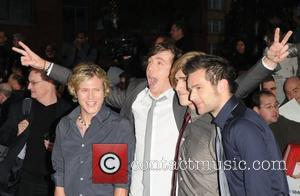 Danny Jones, Dougie Poynter, Harry Judd and Tom Fletcher