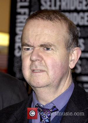 Ian Hislop signing copies of the Private Eye annual for 2008 at Selfridges  London, England - 09.12.08