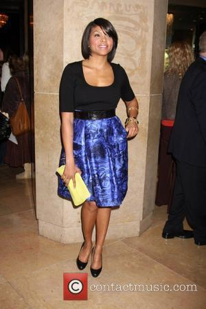 Taraji Henson arriving at the Publicist Guild Awards at the Beverly Hilton Hotel Beverly Hills, California - 18.02.09
