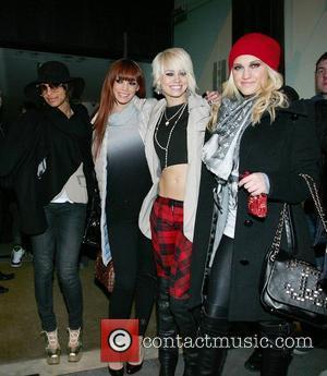 The Pussycat Dolls leaving their hotel Dublin, Ireland - 01.02.09