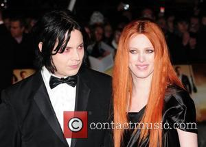 Jack White and Karen Elson The World premiere of the new James Bond movie 'Quantum of Solace' held at the...