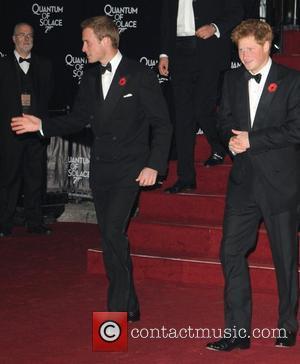 Prince William and James Bond